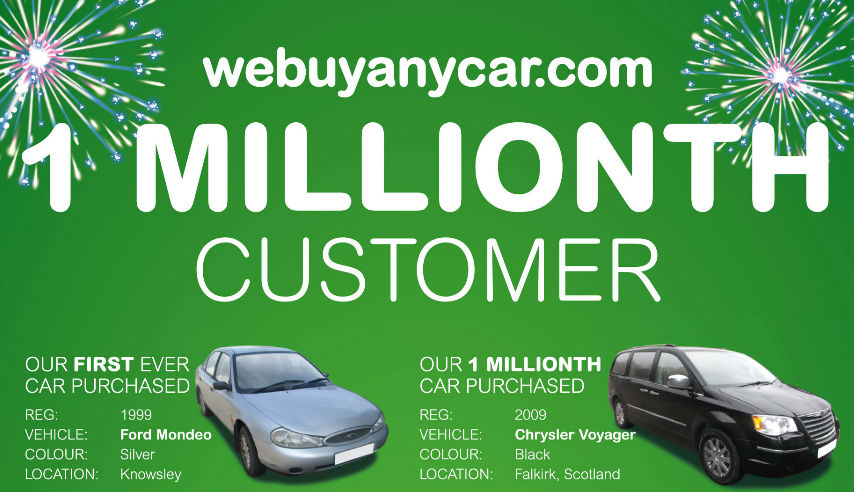 Our 1 millionth customer image